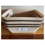 (9) Plastic Baskets