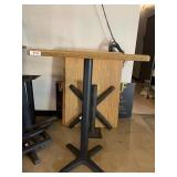 Wooden Bar Height Table for 2