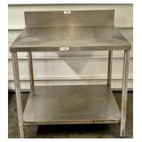 Stinless Steel Prep Table