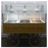 Food Warmer Serving Cart