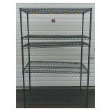 5 Shelf Metal Rack