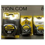 Stanley Power Lock Tape Measures