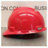 Msa Cap V-gard Staz-on Std Red Hard Hat
