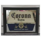 Corona Extra Glass Etched Framed Mirror/picture