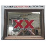Dos Equis Beer Glass Etched Mirror/picture