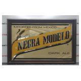 Negra Modelo Beer Glass Etched Framed Picture
