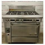 U.s. Oven/6 Burner Gas Range