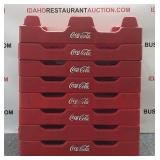 8 Coca-cola Bottle/dish Plastic Racks