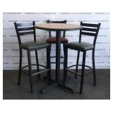 1 Table With 3 Chairs