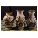 Vintage Mexican Stoneware - Three Pieces
