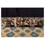 Vintage Mexican Stoneware - Five Pieces