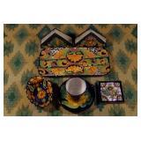 Vintage Mexican Pottery - Seven Pieces