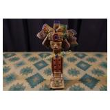 Vintage Mayan Pottery - Flute