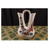 Vintage Navajo Pottery - Wedding Vase