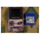 Gameboy Color & Pokémon Blue