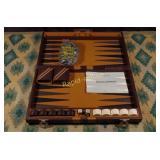 Vintage Backgammon Game Set