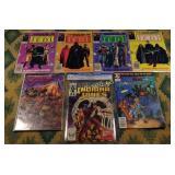 Seven Vintage Comics