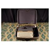Vintage Typewriter With Original Case
