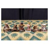 Six Vintage Boyds Bears & Friends Figures