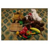 Stuffed Animals & Musical Instruments