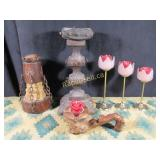 Antique & Vintage Candleholders - Six in Total