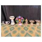 Vintage Candleholders - Six in Total