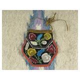 Antique Iroquois Beaded Bag
