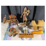 7 Wooden Items