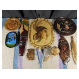 9 Wooden Items