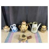 Vintage Mexican Stoneware & Decorative Pottery