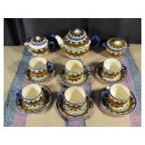 Vintage Mexican Tea Set