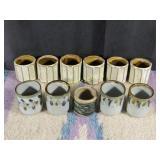11 Vintage Cups