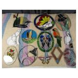 Stained Glass & Glass Wall Hangers