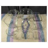 Glassware - 9 Pieces