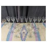Glassware - 23 Pieces