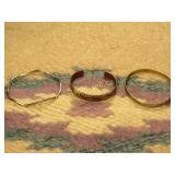 3 Vintage Bracelets