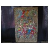 Painting - Mexican Wood Art