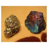 Mineral Specimens - Iron Pyrite & Chalcopyrite