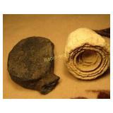 Fossilized Stramatolite & Whale Bone