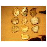 Artifacts - Scrapers - Arizona - 10 Pieces