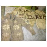 Vintage Cowichan Style Sweaters