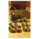 German Blue Pottery #1