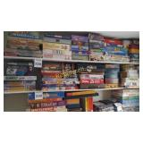 Bottom Shelf of Games