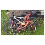 Kawasaki Bik and Iron Man Bike