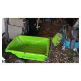 Electric Dumping Wheelbarrow