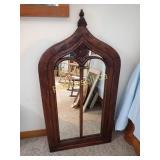 Exotic Wood Mirror