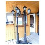 Cast Iron Look Lamps