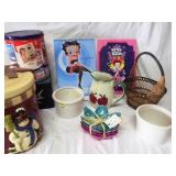 Collectible Tins, Signs & Pitchers