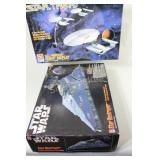 Star Trek USS Enterprise & Star Wars Model Kits