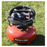 Porter Cable Air Compressor with Pancake Tank